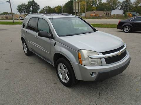 2005 Chevrolet Equinox LT for sale at RJ Motors in Plano IL