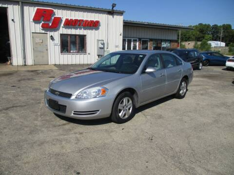 2007 Chevrolet Impala for sale at RJ Motors in Plano IL