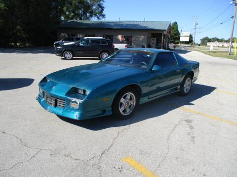 1991 Chevrolet Camaro for sale at RJ Motors in Plano IL