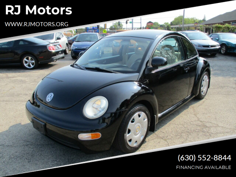 1998 Volkswagen New Beetle for sale at RJ Motors in Plano IL
