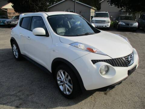 2014 Nissan JUKE for sale at RJ Motors in Plano IL