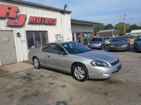 2007 Chevrolet Monte Carlo for sale at RJ Motors in Plano IL