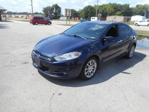 2013 Dodge Dart for sale at RJ Motors in Plano IL