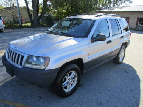2004 Jeep Grand Cherokee for sale at RJ Motors in Plano IL