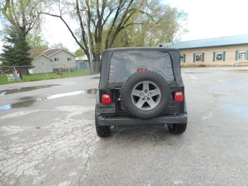 2005 Jeep Wrangler 2dr X 4WD SUV - Plano IL