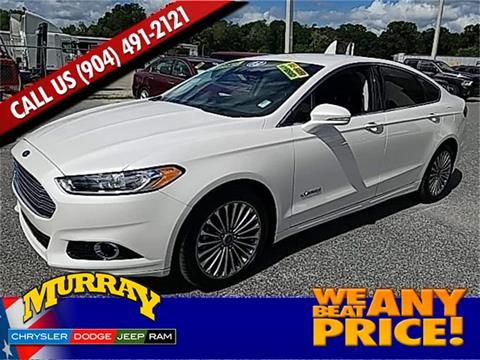 2013 Ford Fusion Hybrid for sale in Starke, FL