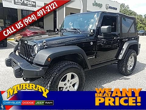 2012 Jeep Wrangler for sale in Starke FL