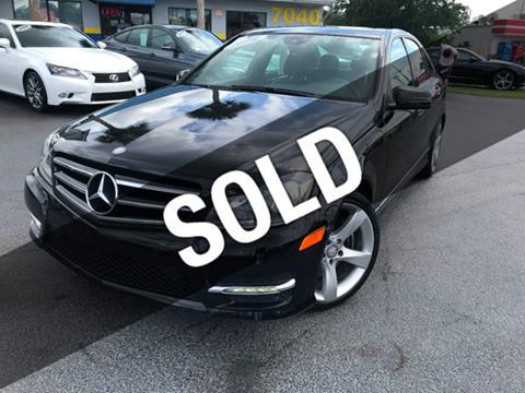 2014 Mercedes-Benz C-Class for sale in Orlando FL