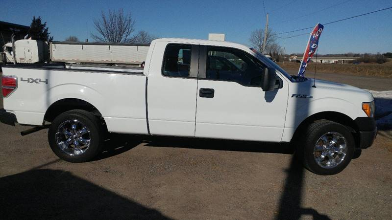 2010 ford f 150 4x4 xl 4dr supercab styleside 6 5 ft sb in saint cloud mn kull n claude. Black Bedroom Furniture Sets. Home Design Ideas