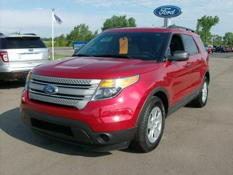 2012 Ford Explorer for sale in Chesaning, MI