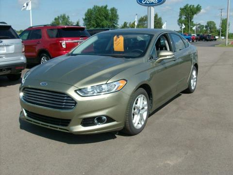 2013 Ford Fusion for sale in Chesaning, MI