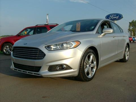 2015 Ford Fusion for sale in Chesaning, MI