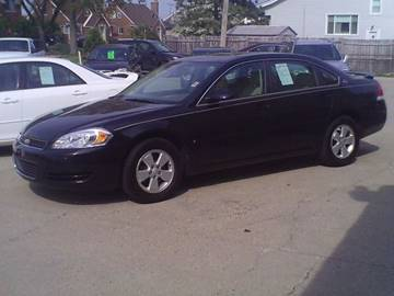 2008 Chevrolet Impala for sale at Fred Elias Auto Sales in Center Line MI