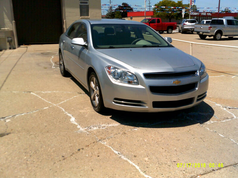 2012 Chevrolet Malibu LT 4dr Sedan w/1LT - Center Line MI