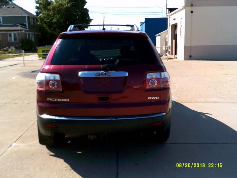 2009 GMC Acadia AWD SLT-2 4dr SUV - Center Line MI