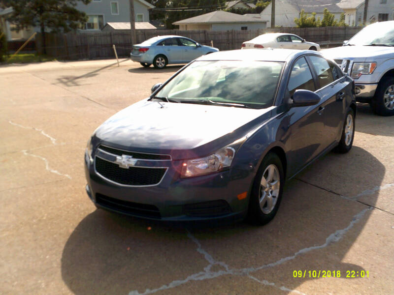 2013 Chevrolet Cruze 1LT Auto 4dr Sedan w/1SD - Center Line MI