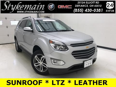 2016 Chevrolet Equinox for sale in Defiance OH