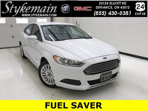 2013 Ford Fusion Hybrid for sale in Defiance OH