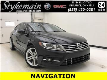 2013 Volkswagen CC for sale in Defiance, OH