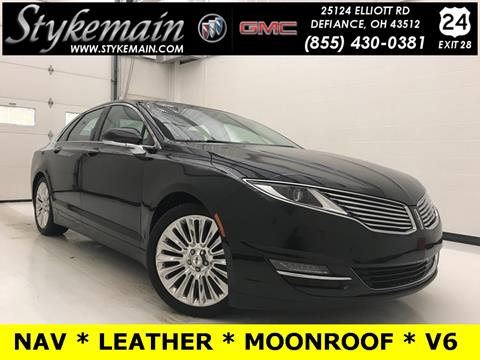2015 Lincoln MKZ for sale in Defiance OH