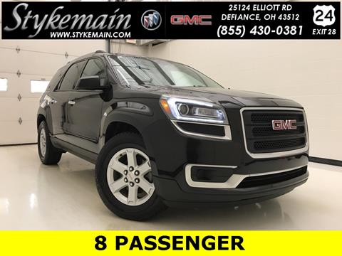 2013 GMC Acadia for sale in Defiance, OH