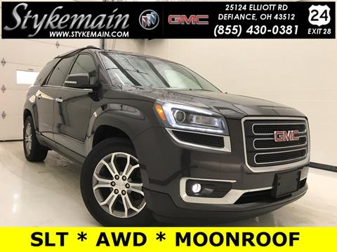 2015 GMC Acadia for sale in Defiance OH