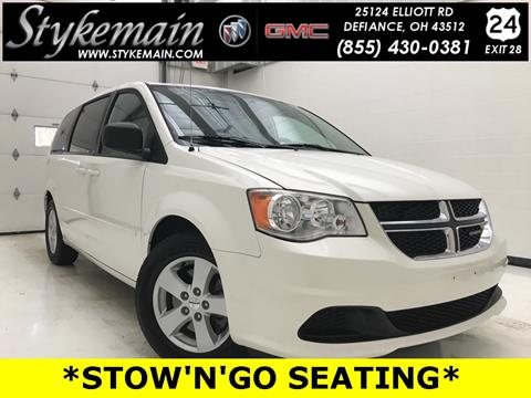 2013 Dodge Grand Caravan for sale in Defiance OH