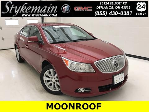 2012 Buick LaCrosse for sale in Defiance, OH