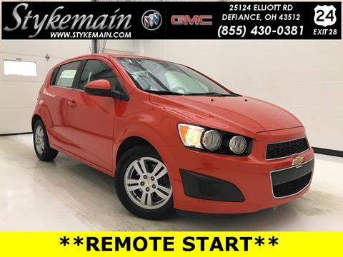 2012 Chevrolet Sonic for sale in Defiance OH