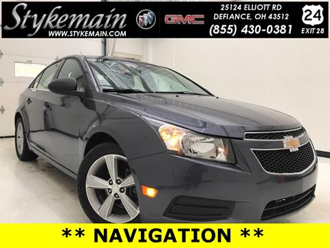 2013 Chevrolet Cruze for sale in Defiance OH
