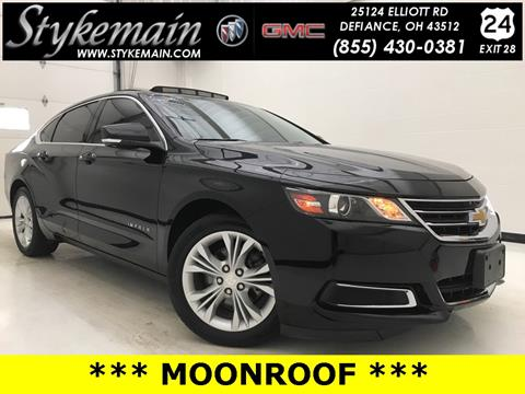 2015 Chevrolet Impala for sale in Defiance OH