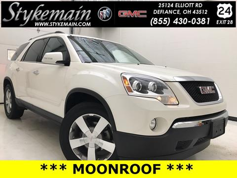 2010 GMC Acadia for sale in Defiance, OH
