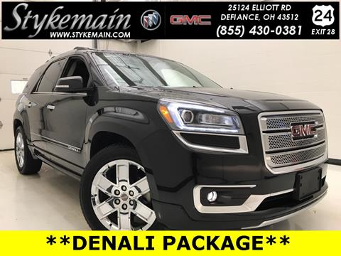 2014 GMC Acadia for sale in Defiance OH