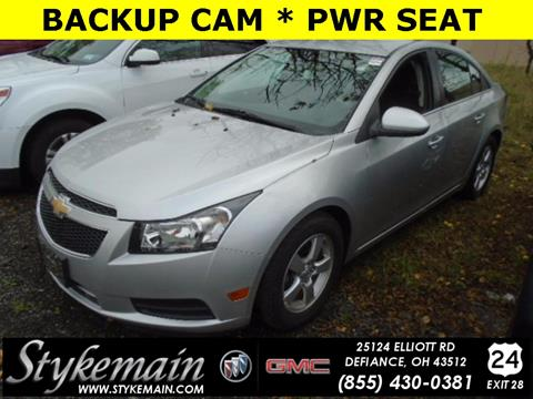 2014 Chevrolet Cruze for sale in Defiance OH