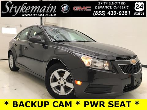 2014 Chevrolet Cruze for sale in Defiance, OH