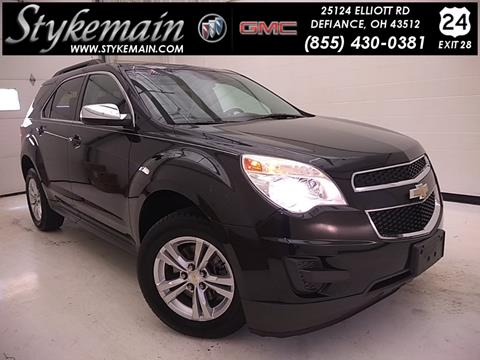 2012 Chevrolet Equinox for sale in Defiance, OH