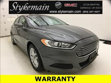 2014 Ford Fusion for sale in Defiance, OH