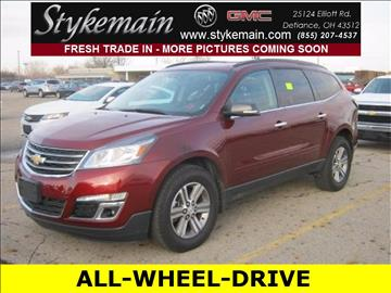 2016 Chevrolet Traverse for sale in Defiance, OH