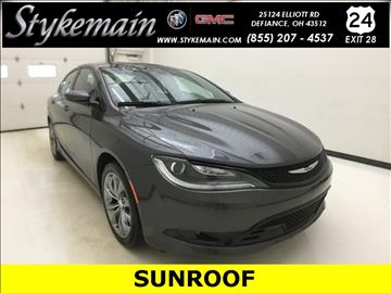 2015 Chrysler 200 for sale in Defiance, OH