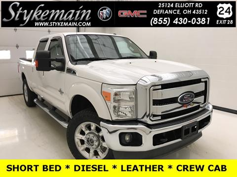 2012 Ford F-250 Super Duty for sale in Defiance, OH