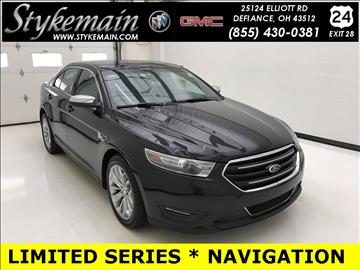2014 Ford Taurus for sale in Defiance, OH