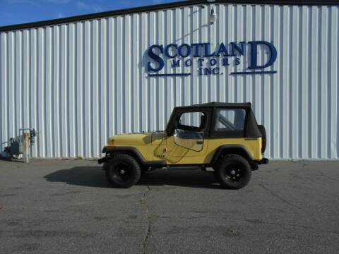 1991 Jeep Wrangler for sale in Laurinburg, NC