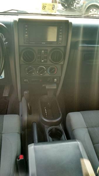 2007 Jeep Wrangler Unlimited 4x4 Sahara 4dr SUV - Front Royal VA