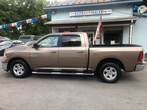 2010 Dodge Ram Pickup 1500 for sale at Elite Auto Sales Inc in Front Royal VA