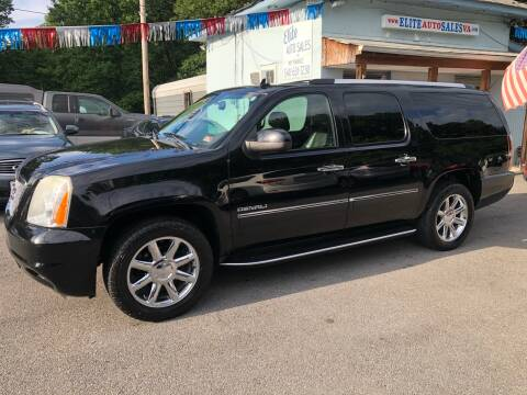 2011 GMC Yukon XL for sale at Elite Auto Sales Inc in Front Royal VA