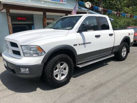 2011 RAM Ram Pickup 1500 for sale at Elite Auto Sales Inc in Front Royal VA