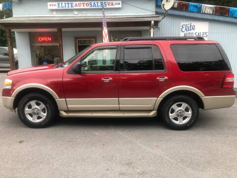 2009 Ford Expedition for sale at Elite Auto Sales Inc in Front Royal VA