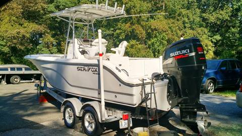 2007 Seafox 236 CC Pro