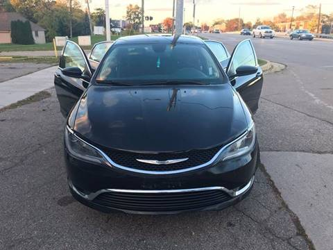 2015 Chrysler 200 for sale in Mount Clemens, MI