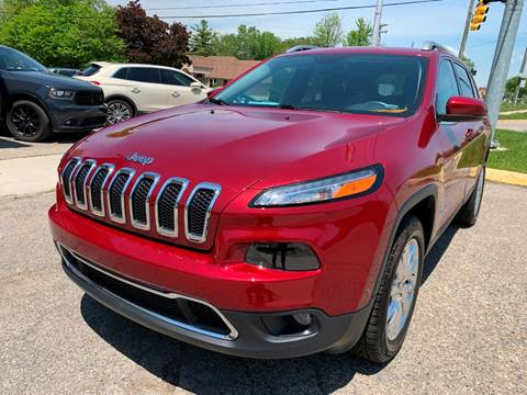 2015 Jeep Cherokee for sale in Mount Clemens, MI